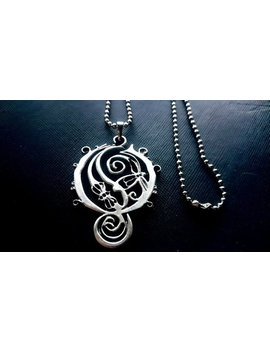 Opeth Necklace 925 Silver Plated Pendant by Etsy