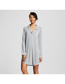 Women's Nightgowns   Gilligan & O'malley™   Medium Heather Gray Xs by Gilligan & O'malley™