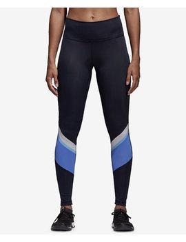 Wanderlust Colorblocked High Waist Training Leggings by Adidas