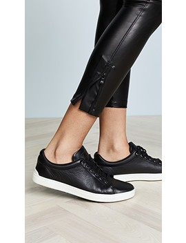 Ankle Zip Moto Leggings by David Lerner