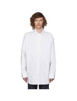 White Dennis Hopper/Sandra Brandt Shirt by Calvin Klein 205 W39 Nyc