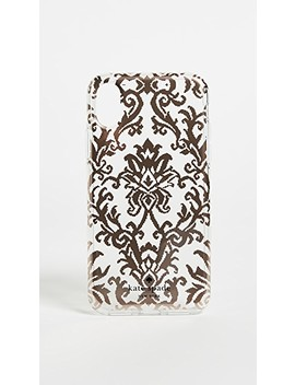 Rose Gold Tapestry I Phone X Case by Kate Spade New York