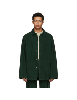 Green Stealh Coat by Acne Studios BlÅ Konst
