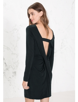 Open Back Dress With Cross Strap by & Other Stories