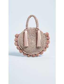 Straw Circle Tote by Loeffler Randall