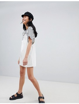 Pull&Bear Classic Overall Dress by Pull&Bear