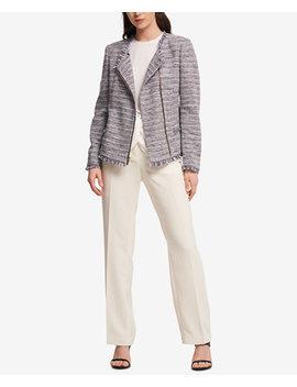 Tweed Blazer, Created For Macy's by Dkny
