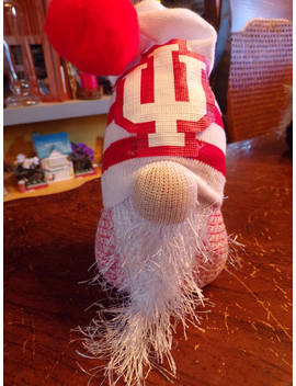 Indiana Hoosiers Gnome by Etsy