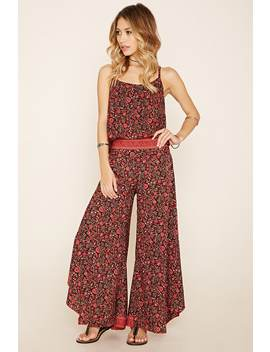 R By Raga Floral Wide Leg Pants by Forever 21