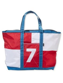 Everyday Signal Flag Tote by L.L.Bean