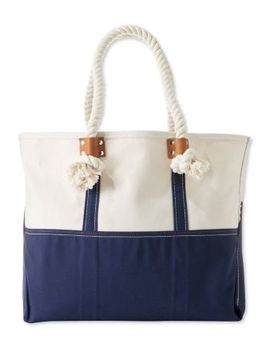 Signature Boat And Tote by L.L.Bean
