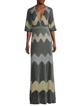 Wave Kit Maxi Dress by M Missoni
