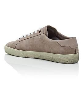 Men's Sl/06 Suede Sneakers by Saint Laurent