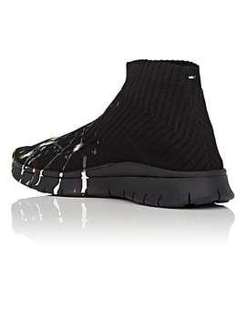 Paint Splatter Sock Sneakers by Maison Margiela