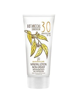 Australian Gold Botanical Sunscreen Mineral Lotion, Non Greasy, Spf 30, 5 Ounce by Australian Gold
