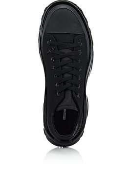 Detroit Runner Canvas & Nylon Sneakers by Adidas X Raf Simons