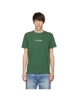 Green Logo T Shirt by AimÉ Leon Dore