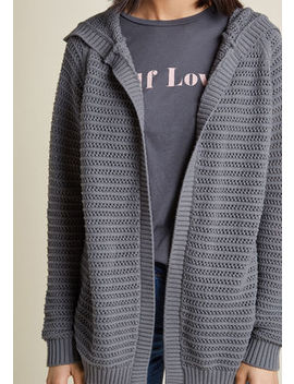 Pause For The Cozy Open Knit Cardigan Pause For The Cozy Open Knit Cardigan by Modcloth