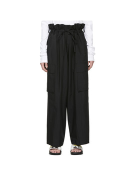 Black Cord Trousers by Juun.J