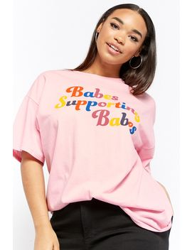 Plus Size The Style Club Supporting Babes Graphic Tee by Forever 21