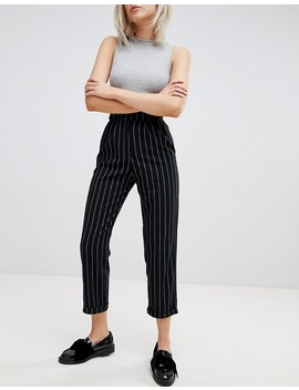Pull&Bear Stripe High Waisted Pant by Pull&Bear