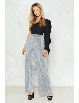 I'm In The Mood For Dancing Glitter Pants by Nasty Gal
