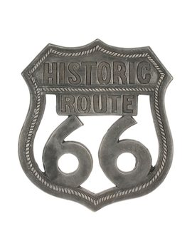 """Stonebriar Collection """"Route 66"""" Aluminum Wall Art by Kohl's"""