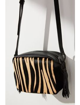 Tracollina Zebra Crossbody Bag by Maliparmi