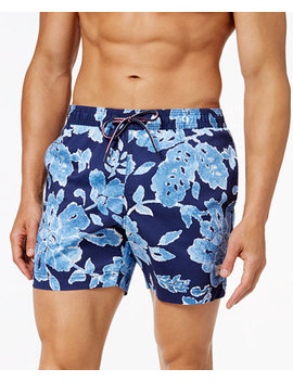 Men's Lakebay Swim Trunks, Created For Macy's by Tommy Hilfiger