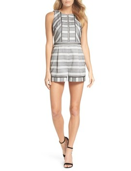 Lucille Jacquard Romper by Adelyn Rae
