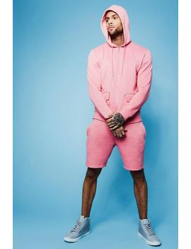Utility Hooded Short Tracksuit by Boohoo