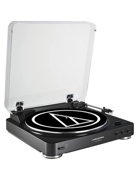 At Lp60 Fully Automatic Belt Drive Turntable (Black) by Audio Technica Consumer
