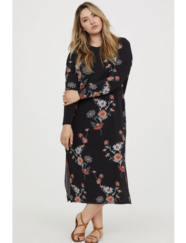 H&Amp;M+ Calf Length Dress by H&M