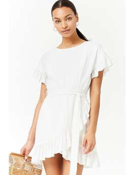 Ruffled Tulip Dress by F21 Contemporary