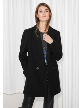 Double Breasted Blazer Coat by & Other Stories