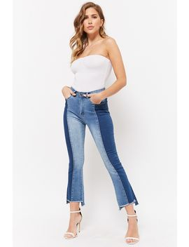 12x12 Flared Step Hem Jeans by Forever 21