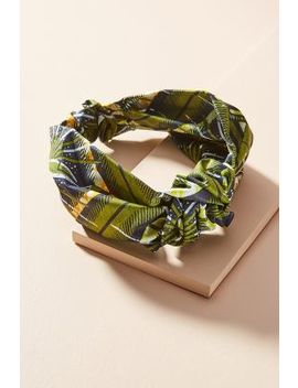 Printed Marin Knot Headband by Jennifer Behr