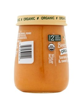 Beech Nut Organic Stage 2 Banana, Mango & Sweet Potatoes,4.25oz, (Pack Of 10) by Beech Nut