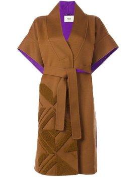 Belted Coat by Fendi