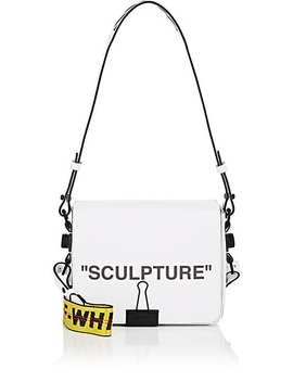 """""""Sculpture"""" Leather Crossbody Bag by Off White C/O Virgil Abloh"""