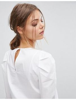 Esprit Structured Shoulder Blouse by Esprit