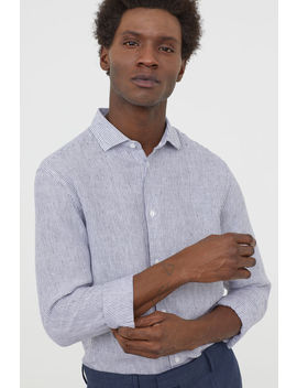 Linen Shirt Slim Fit by H&M