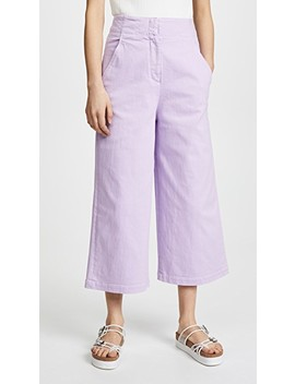 Demi Cropped Jeans by Tibi