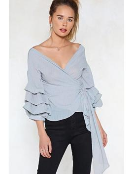 In Tiers Striped Top by Nasty Gal