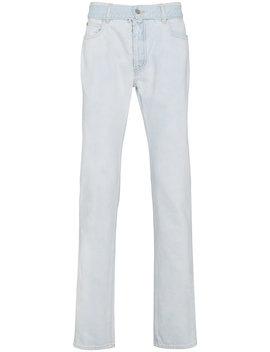 Super Bleach Slim Jeans by Maison Margiela