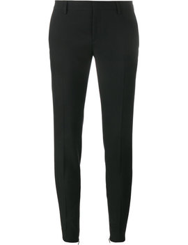 Gabardine Skinny Trousers by Saint Laurent
