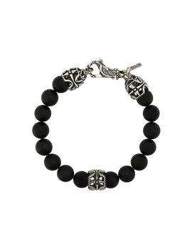 Bracelet En Perles à Détails En Argent by Emanuele Bicocchi