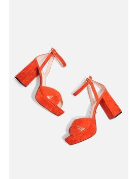Leah Platform Shoes by Topshop