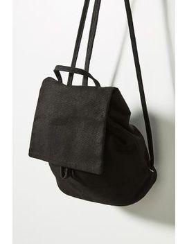 Mini Canvas Backpack by Baggu