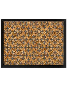 Wall Pops!® Veranda Framed Printed Cork Board In Black by Bed Bath And Beyond